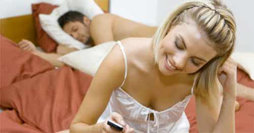 sexting and cheating